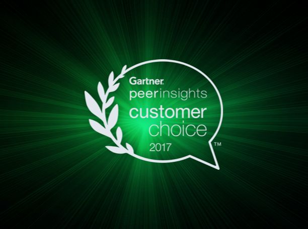2017 Gartner Peer Insights Customer Choice Awards for Endpoint Protection Platforms – Silver Medal