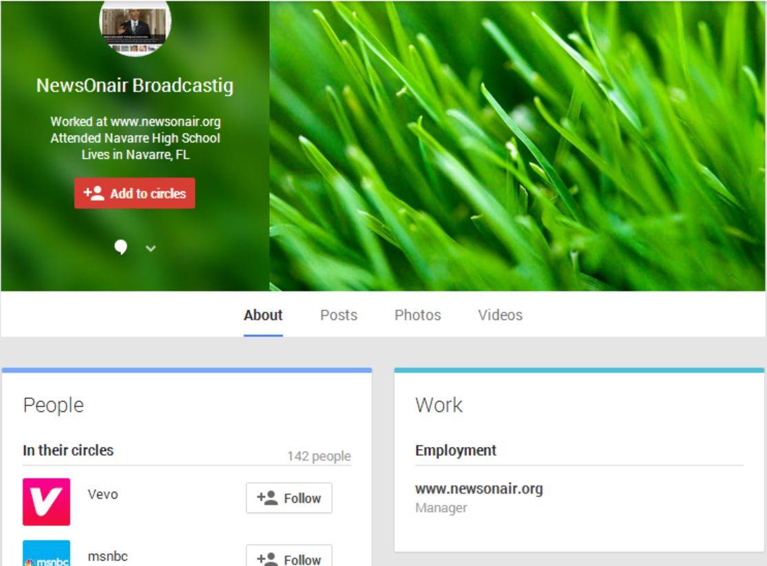 NewsOnAir on Google+