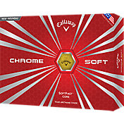 Callaway Chrome Soft Yellow Golf Balls – Prior Generation