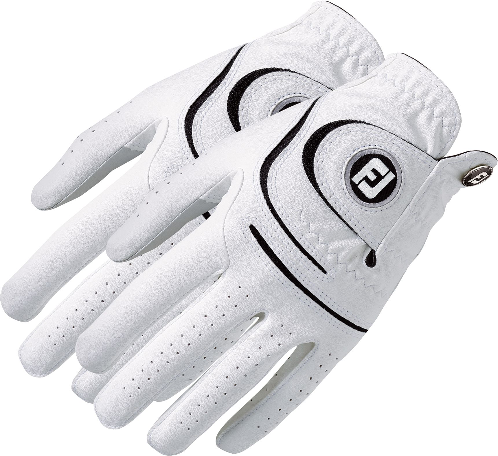 Black leather golf gloves - Product Image Footjoy Men S Weathersof Golf Glove 2 Pack