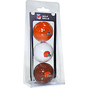 Team Golf Cleveland Browns Golf Balls – 3 Pack