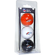 Team Golf Denver Broncos Golf Balls – 3 Pack