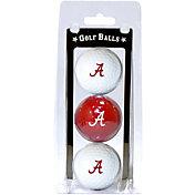 Team Golf Alabama Crimson Tide Golf Balls - 3-Pack