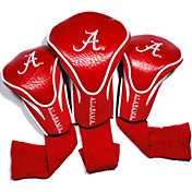 Team Golf Alabama Crimson Tide Crimson Contour Headcovers - 3-Pack