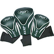 Team Golf New York Jets 3-Pack Contour Headcovers