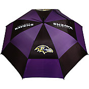 "Team Golf Baltimore Ravens 62"" Double Canopy Umbrella"