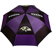 "Team Golf Baltimore Ravens 62"" Double Canopy Umbrella"