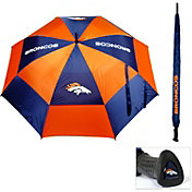 """Team Golf Denver Broncos 62"""" Double Canopy Umbrella"""