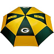 "Team Golf Green Bay Packers 62"" Double Canopy Umbrella"