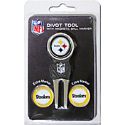 Team Golf Pittsburgh Steelers Divot Tool and Marker Set