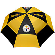 """Team Golf Pittsburgh Steelers 62"""" Double Canopy Umbrella"""