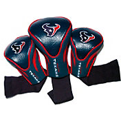 Team Golf Houston Texans 3-Pack Contour Headcovers