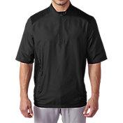 adidas Men's Club Short Sleeve Golf Wind Jacket