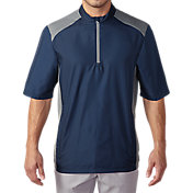 adidas Men's Club Short Sleeve Golf Wind Jacket