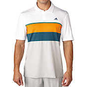 adidas Men's climacool Engineered Stripe Golf Polo