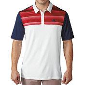 adidas Men's Advantage Colorblock Golf Polo