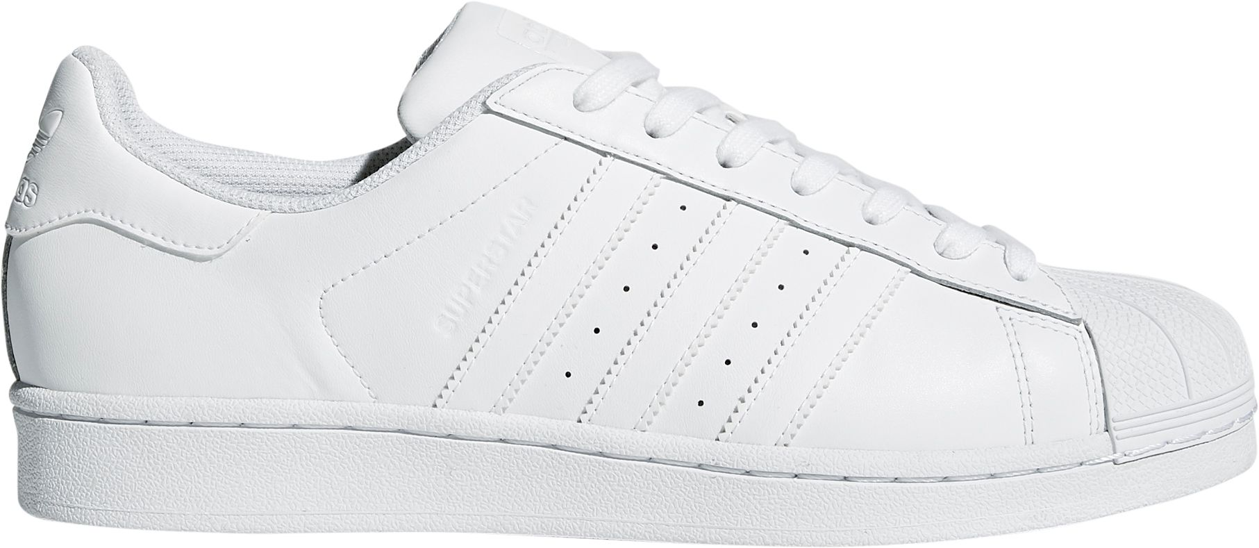 Cheap Adidas Superstar 1 White Black Unisex Sports Office