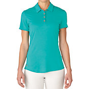 adidas Women's Essentials Heather Golf Polo