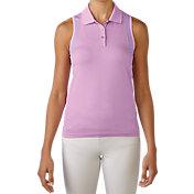 adidas Women's Seamless Sleeveless Golf Polo
