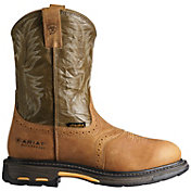 "Ariat Men's Workhog Pull-On Waterproof 10"" Western Boots"