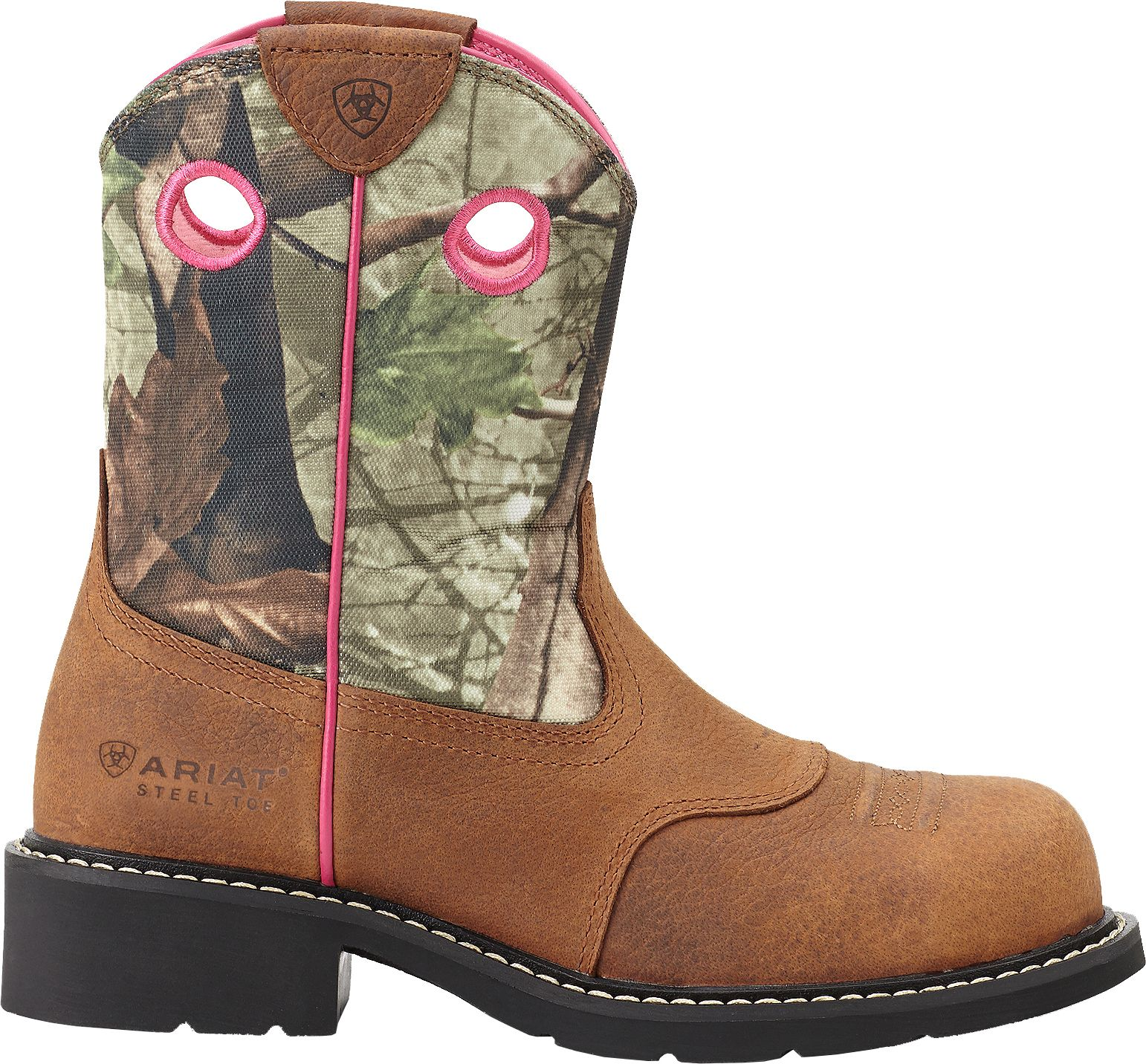 Ariat Women's Fatbaby Camo Steel Toe Western Boots | DICK'S ...