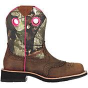 Ariat Women's Fatbaby Camo Western Boots