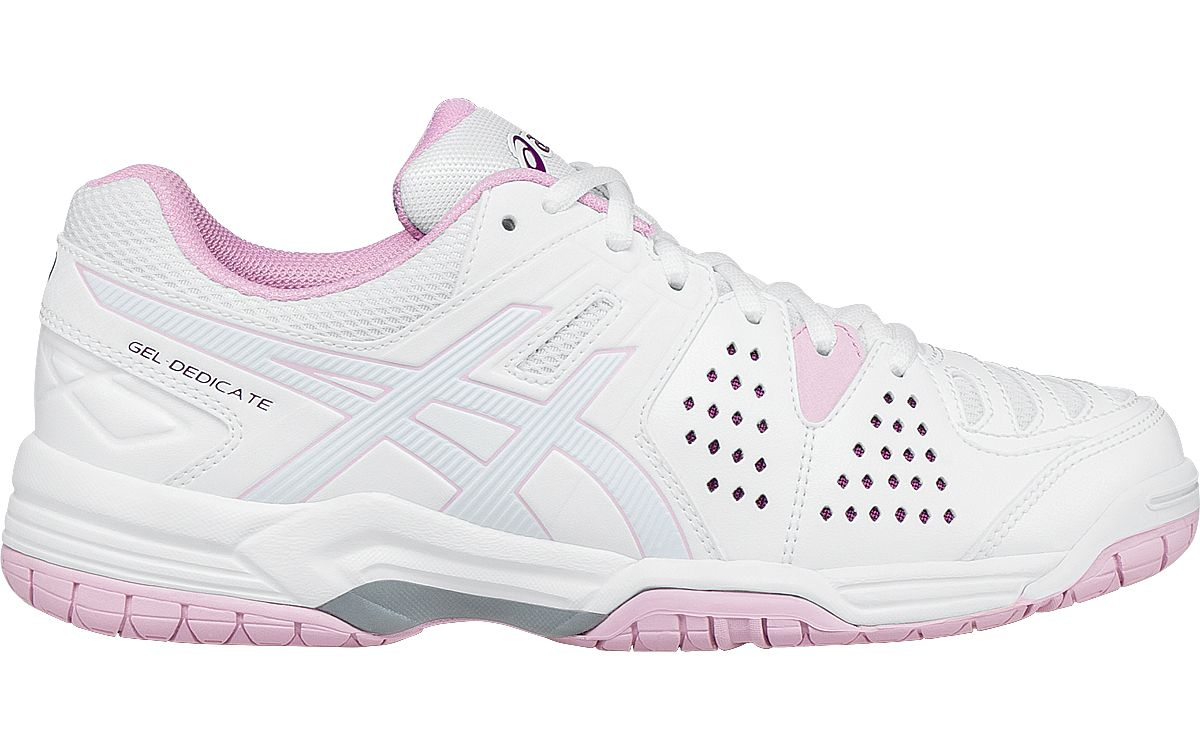 Asics GelDedicate 4 W Sport Shoes Color White  Women