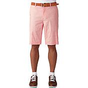 Ashworth Men's Stretch Pinstripe Slub Golf Shorts