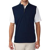 Ashworth Men's Stretch Wind Half-Zip Golf Vest