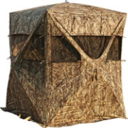 Barronett BIG MIKE Ground Blind – Bloodtrail Backwoods / Blades Camo