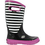 BOGS Kids' Striped 9'' Rain Boots