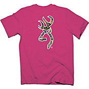 Browning Men's Camo Buckmark T-Shirt
