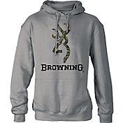 Browning Men's Camo Logo Hoodie