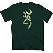 Browning Men's Topograph Buckmark T-Shirt