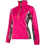 Browning Women's Lotus Half Zip Fleece Pullover