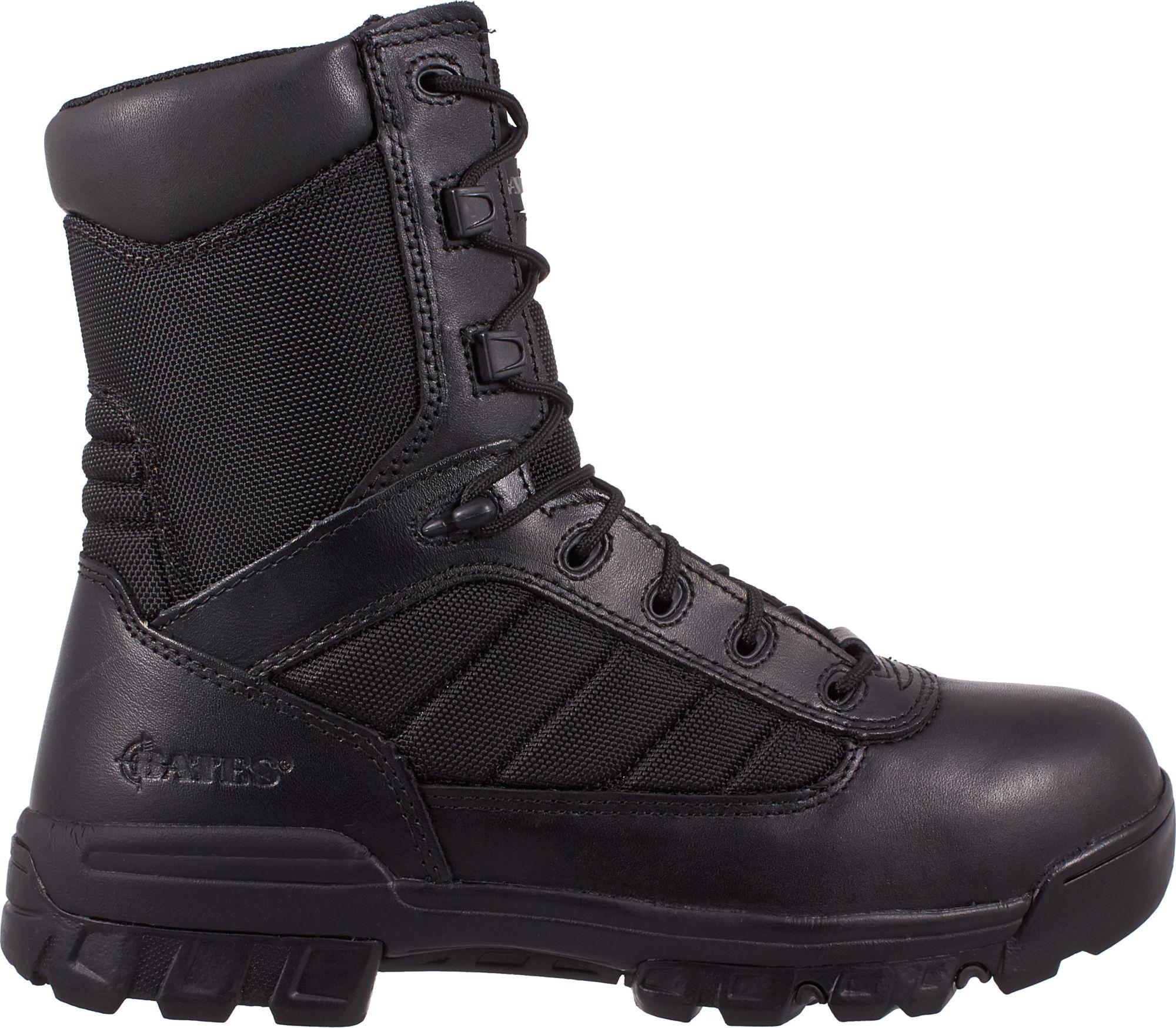 Product Image · Bates Men's Enforcer Side Zip Wide Work Boots