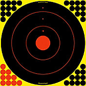 Birchwood Casey Shoot-N-C Self Adhesive Bull's-Eye Paper Target Pack