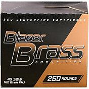 CCI .40 S&W Blazer Brass Handgun Ammo – 250 Rounds
