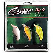 Cotton Cordell Big-O Triple Threat Crankbait Kit
