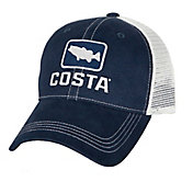 Costa Del Mar Bass Trucker Hat