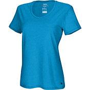Champion Women's Vapor Heather V-Neck T-Shirt