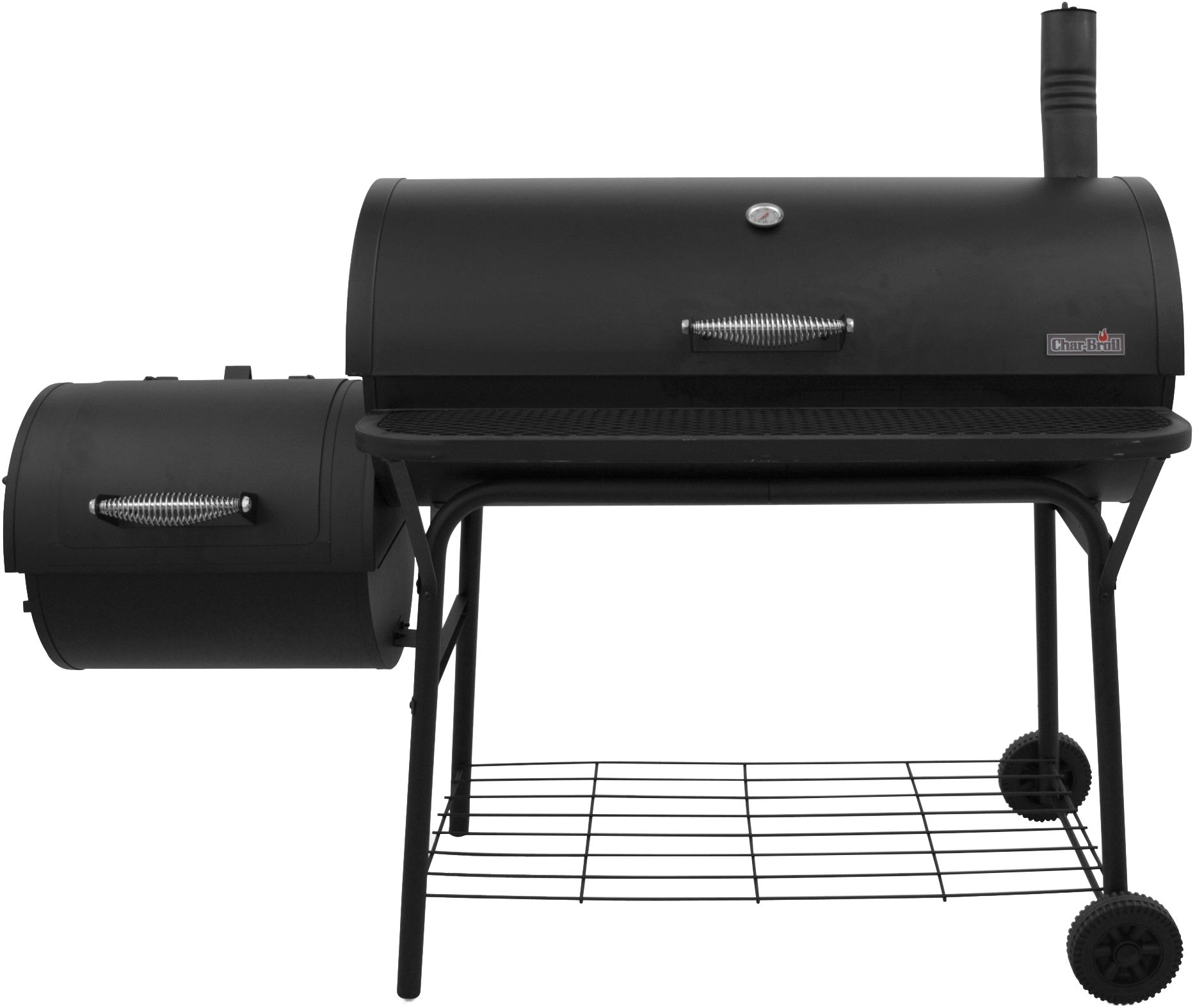 char broil deluxe bbq offset smoker grill 1280 u0027s sporting goods