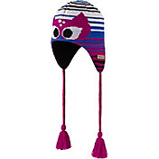 Columbia Girls' Winter Worn Peruvian Hat