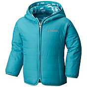 Columbia Toddler Girls' Reversible Double Trouble Insulated Jacket