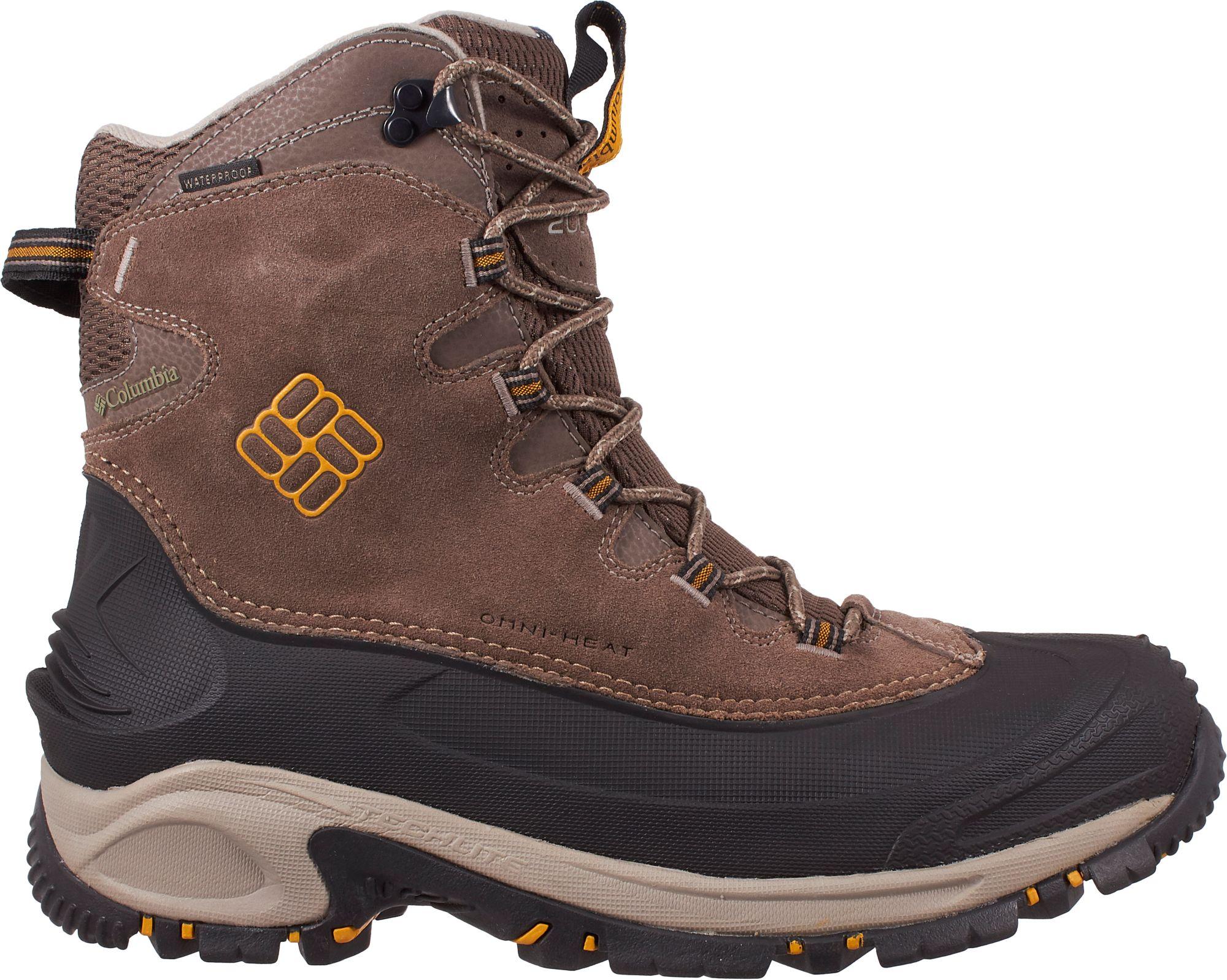 Columbia Men's BugaBoot Omni-Heat Waterproof 200g Winter Boots ...