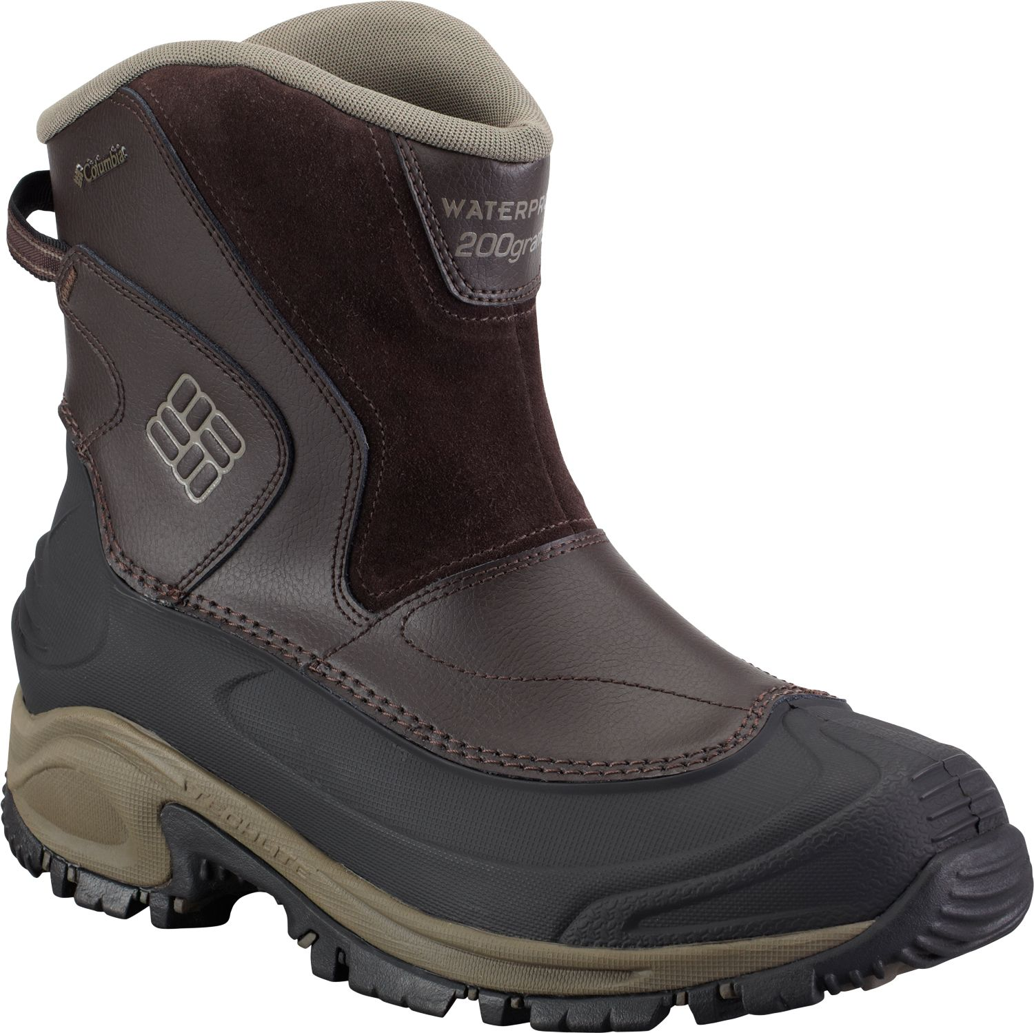 Columbia Men's Bugaboot Slip-On Waterproof 200g Winter Boots ...