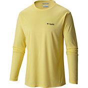 Columbia Men's PFG By The Shore Red Fish Long Sleeve Shirt