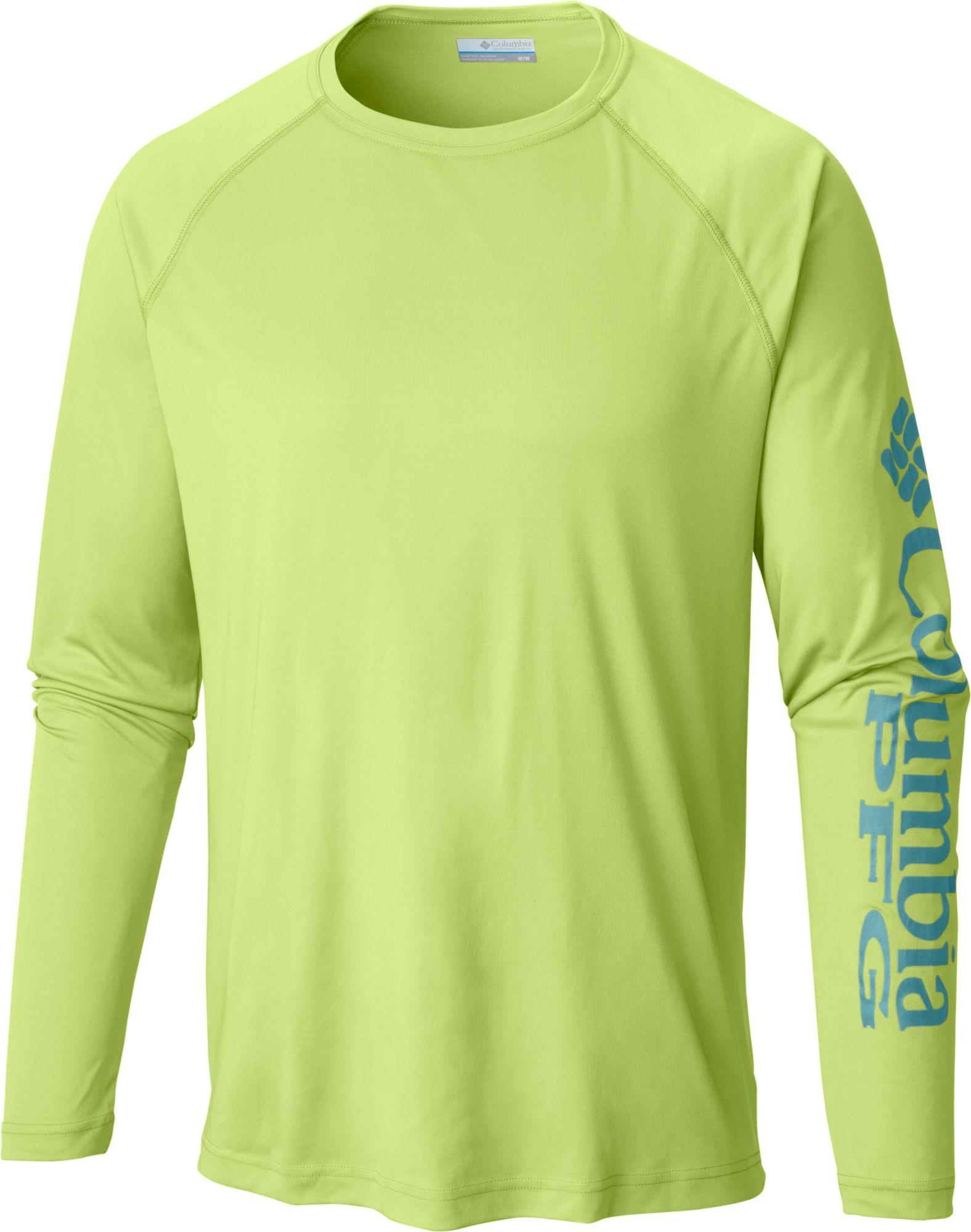 Columbia Men's PFG Terminal Tackle Long Sleeve Shirt | DICK'S ...