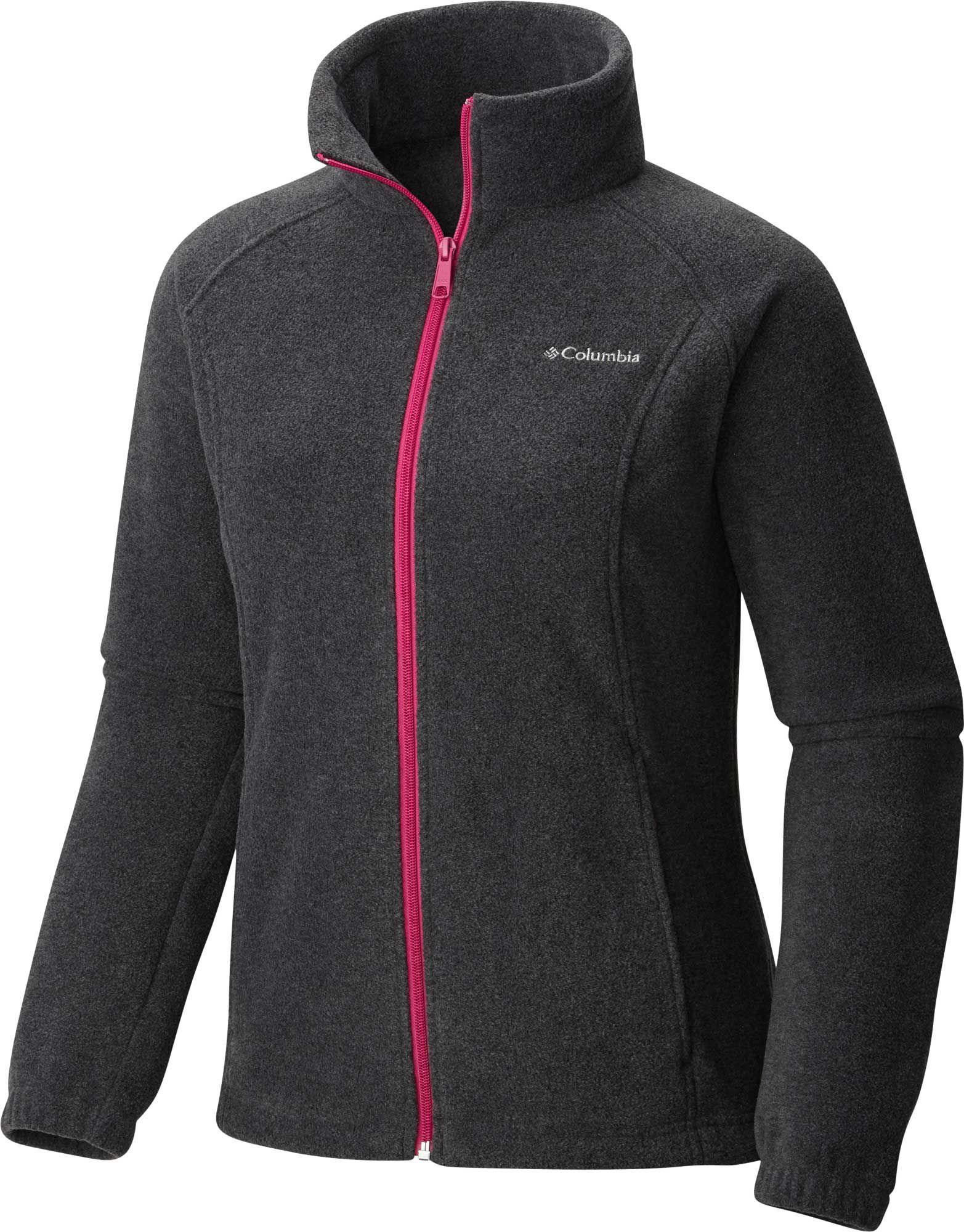 Columbia Women's Benton Springs Full Zip Fleece Jacket | DICK'S ...