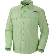 Columbia Boys' PFG Bahama Long Sleeve Shirt